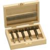 BORCT-SET-5A 5 Piece Metric Carbide Tipped Forstner Bit Set Bormax 15-20-25-30-35mm Forstner Bits