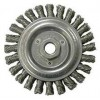 "Wire Wheel 4-7/8"" Diameter with 5/8-11 Arbour Hole .023 Gauge Stringer Bead Knotted (Stainless Steel)"
