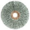 """3"""" Small Diameter Crimped Wire Wheel .014"""" Stainless Steel Fill 1/2""""-3/8"""" Arbour Hole Wire Brushes - Hand & Mandrel Mount"""