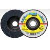 """Flap Disc 5"""" Diameter 7/8"""" Arbour Hole SMT628 40 Grit Klingspor 322796 5"""" Flap Discs"""