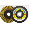 "Flap Disc 4-1/2"" Diameter 7/8"" Arbour Hole SMT850 Coarse Grit Klingspor 312556 Surface Conditioning Flap Discs"