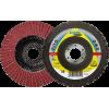 """Flap Disc 4-1/2"""" Diameter 7/8"""" Arbour Hole SMT924 40 Grit Klingspor 322862 4-1/2"""" Flap Discs"""