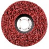 "E-Z Strip Wheel 4-1/2"" Diameter 7/8'' Arbour - Non-Woven Material"