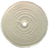 """6 x 1/4'' 1/2"""" Bore (20 Ply) - Cotton Sewed Type Buffing Wheel"""