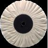 6 x 1/2'' (15 Ply) - Cotton Bias Type Buffing Wheel