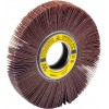 "Flap Wheel 6"" Diameter 1"" Wide With 1"" Arbour Hole SM611 Aluminum Oxide 120 Grit Klingspor 280606 Non-Mounted Flap Wheels"