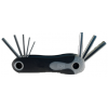 8piece Metric Folding Hex Key Set