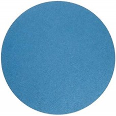 "Sanding Disc 16"" Diameter No Hole Blue Zirconia Alumina X-Weight Cloth Back PSA Sanding Disc 60 Grit"
