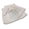 25lb White Terry Reclaimed Rags
