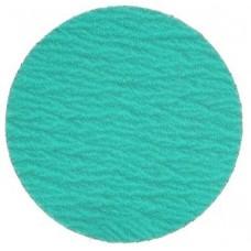 "Sanding Disc 24"" Diameter No Hole Green Zirconia Alumina X-Weight Cloth Back PSA Sanding Disc 36 Grit"