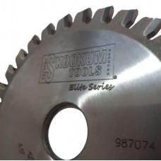 "4-1/2"" Diameter 30 Tooth Aluminum Miller Back Gouging Blade   4"" (100mm) to 6-1/2"""